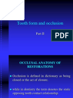 Tooth Form and Occlusion2(351)