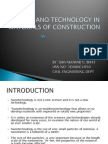 Innovations in Building Construction Material