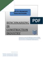 Bench Marking Report