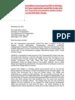 TIGER Grant Letter