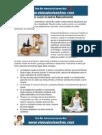 Como curar el estrés de Forma Natural