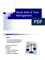 Studying Skills and Time Management