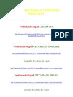Materiais Para o Concurso Pmce 2012
