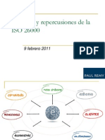 Alcances y repercusiones de la ISO 26000
