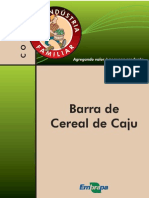 Barra de Cereal de Caju