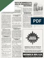 Biotratamiento de minerales - Mundo Minero 1992