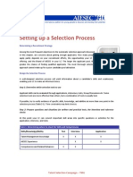 Setting Up a Selection Process