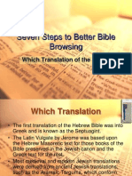 Seven Steps to Better Bible Browsing