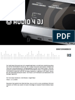 Audio 4 DJ Manual German