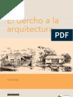 El Derecho a La Arquitectura