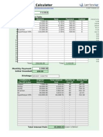 Debt Reduction Calculator Luc