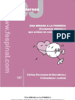 Una Mirada a la Pobreza. Caritas Barcelona