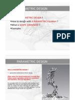 Parametric Design1