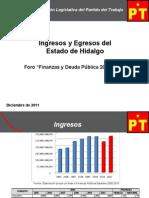 Ley de Ingresos y Presupesto de Egresos 2012 en Hidalgo
