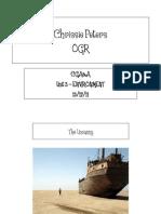 Ogr Presentation - 3 Environment