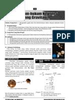 Bahan Ajar 2 Hukum Newton Ttg Gravitasi 2011