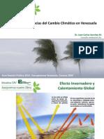 Consecuencias Del Cambio Climatico en Venezuela J