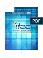 CATÁLOGO ITEC 2010-2014