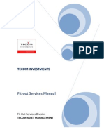 Tecom Fit-out Services Manual