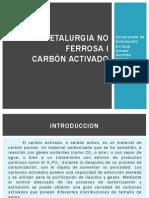 Carbón Activado - Metalurgia No Ferrosa I