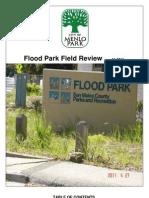 City of Menlo Park (CA) Staff Report On Flood Park