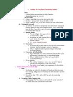 Comm Law Outline -- Part II Commercial Paper