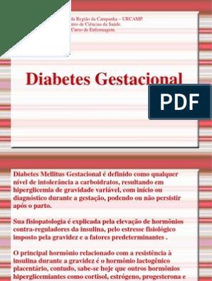 diabetes gestacional pdf fisiopatologia