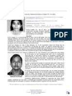 Caso de femicidio  Ericka Cajbon y el asesinato de su hermano un año después.