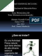Biomecanica Del Trote