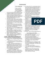 English IV Test Study Guide 12.13.11