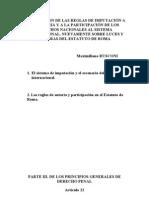 Autoria y Participacion en El Estatuto de Roma