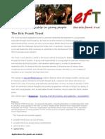 Eric Frank Trust Leaflet Criteria