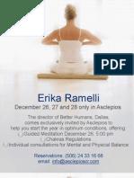 Erika Ramelli in Asclepios / Erika Ramelli en Asclepios