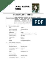 Curriculum Vitae de Geo 2011