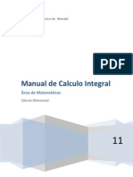Manual de Calculo Integral