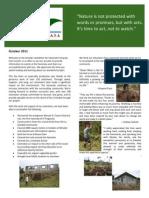 October 2011 HT Newsletter