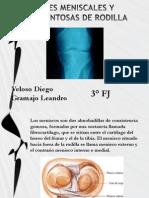 Lesiones Meniscales y Ligamentosas de Rodilla