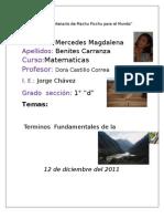 Morfología del Territorio Peruano, Recursos Naturales y Migraciones