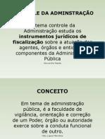 AULA III UNID - DIR ADM CONTROLE DA ADMINSTRAÇÃO