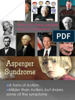 Autism Biological Presentation