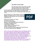 Script for CD God's Love Story