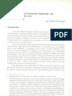 ¿Por qué el autogolpe? Fujimori y el Congreso, 1990-1992 - Charles D. Kenney
