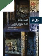 John Adams Son of Chamber Symphony String Quartet 06 Son of Chamber Symphony String Quartet Booklet 320