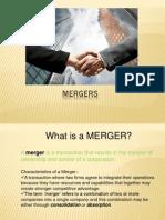 Mergers and Amalgamations