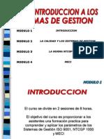 Curso Introduccion a Los Sistemas de Gestion Dic 2010