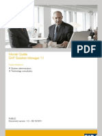 SAP Solution Manager 7.1 Master Guide