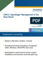 KOUFALIS OpenEdge Management V2
