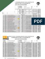 Listas Agosto 2011 - Enero 2012 (Fundamentos de Programacion