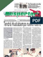 Despertar de Sonora Edicion 27 de octubre del 2008
