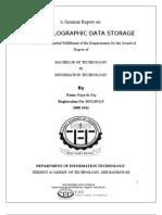 Hdss Seminar Report